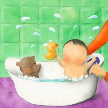 Ladybird Happy Babies: Bathtime