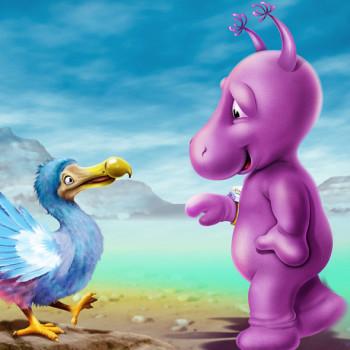 Wally meets the Dodo