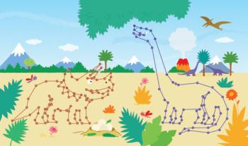 Dinosaur Pals - Amazing Dot to Dots