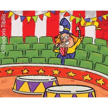 Illustrations for the picture book 'Clown MD'