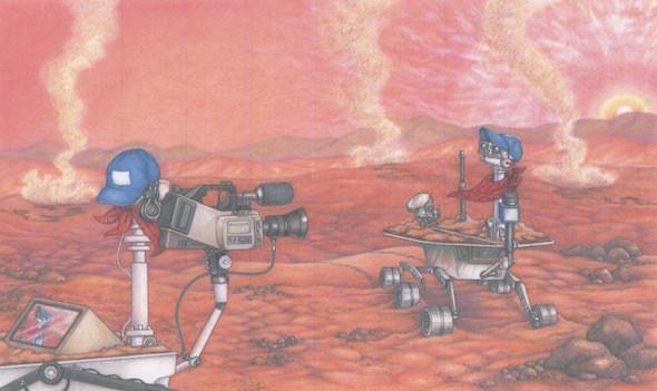 Rovers on Mars - Solar System Forecast