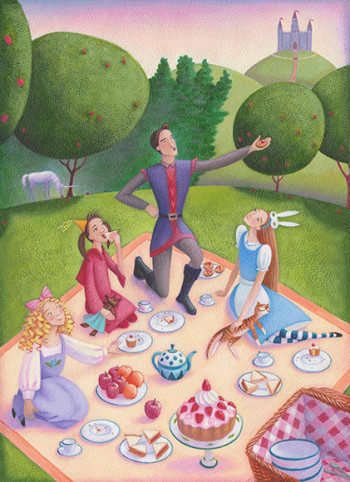 charming picnic