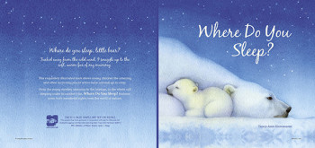 'Where do You Sleep? Cover spread