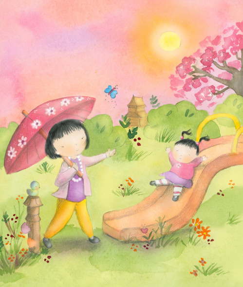 Illustration for Babybug Magazine March 2013