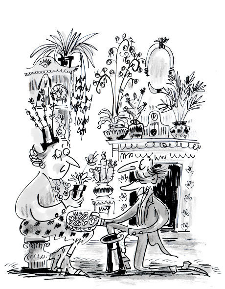 Illustration from Terry Pratchett's The Witch's va