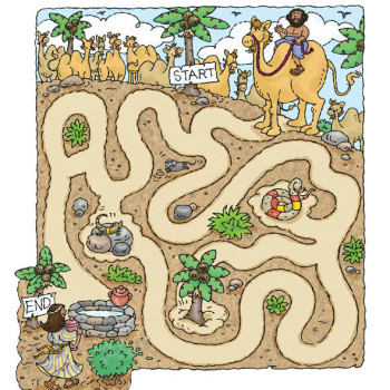 Haran & Issac's Wife Maze
