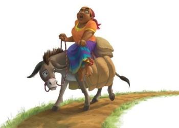 Zel, the Gentle Donkey