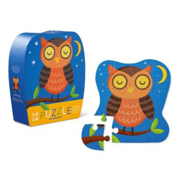 Sleepy owl puzzle