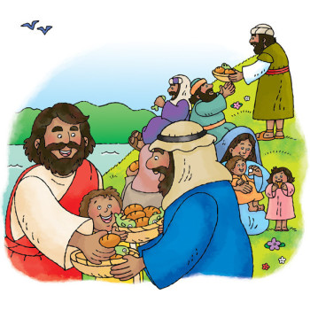 Jesus and the Loaves and Fishes
