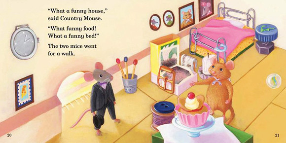 town mouse's house