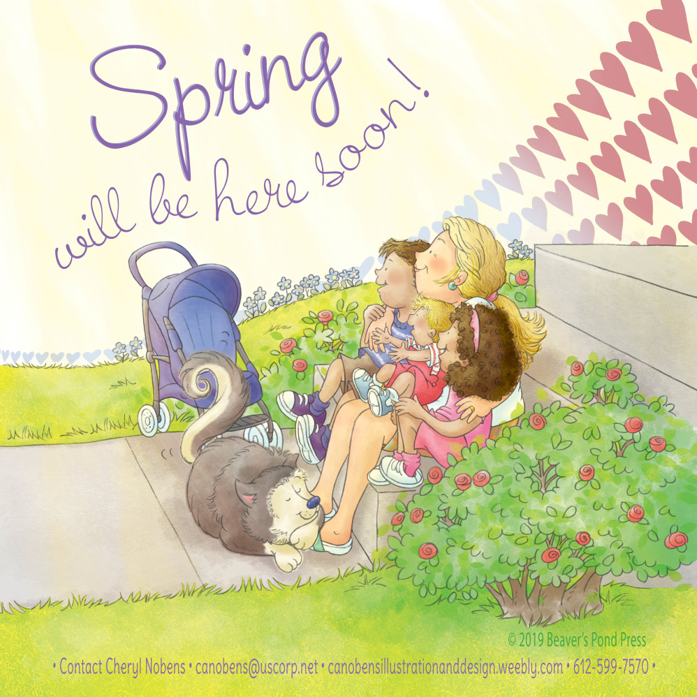 Spring will be here soon!