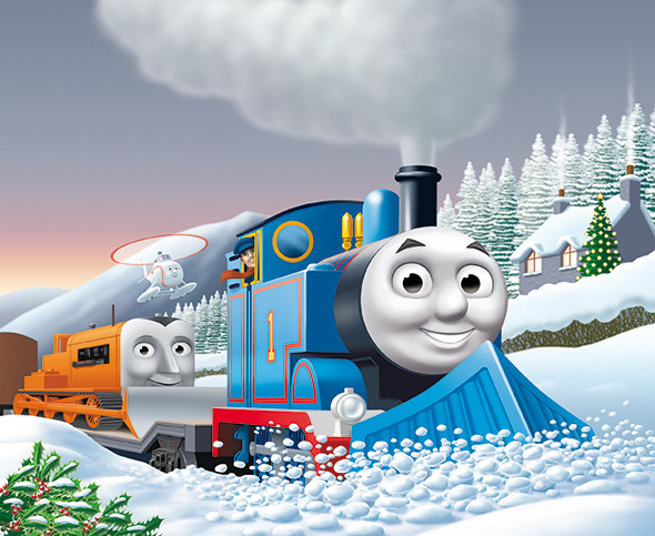 Cover art for The Snowy Surprise