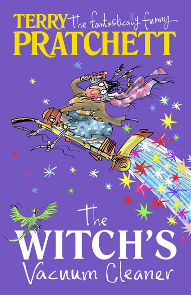 The Witch's Vacuum cleaner book cover.