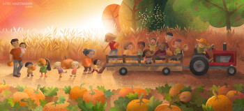 Fall Pumpkin Farm