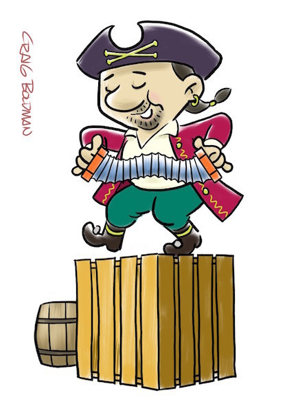 Pirate Dance by Craig Boldman