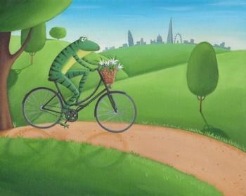 Frog in London