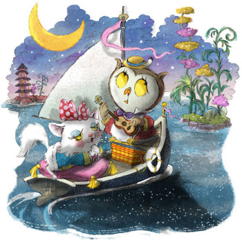 The Owl & the Pussycat Sailed Away to Sea