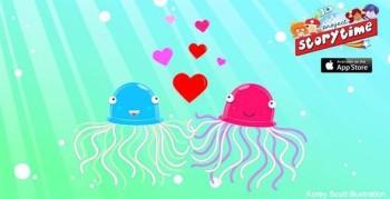 Octopus Love - Vector Art - Games, apps