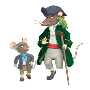 Jim Hawkins & Long John Silver