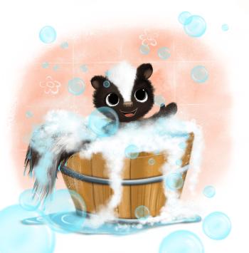 Bathtub time :)