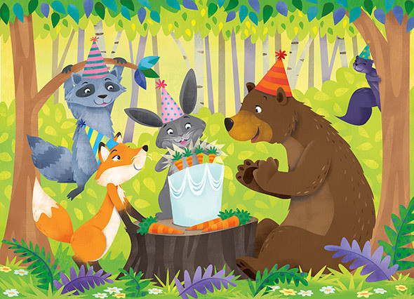 Birthday in the Forest