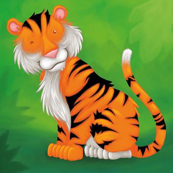 Tiger Says Hello