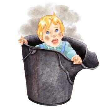 Boy In A Coal Shuttle
