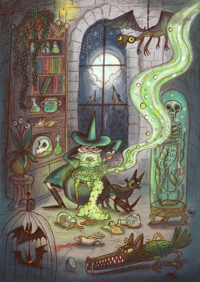 Wizard potion