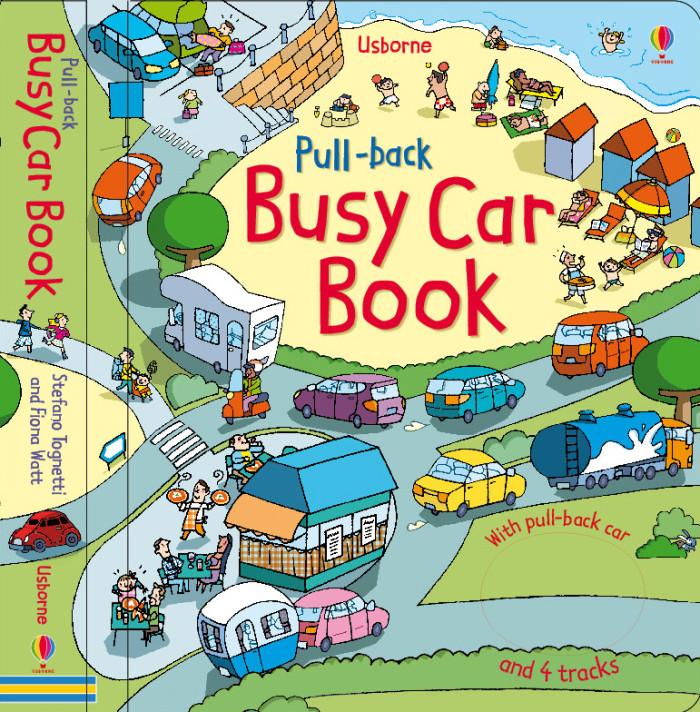 Busy Car book   Ed.Usborne