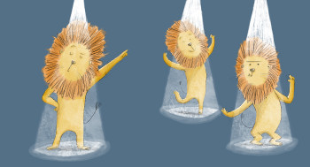 Brian the Dancing Lion