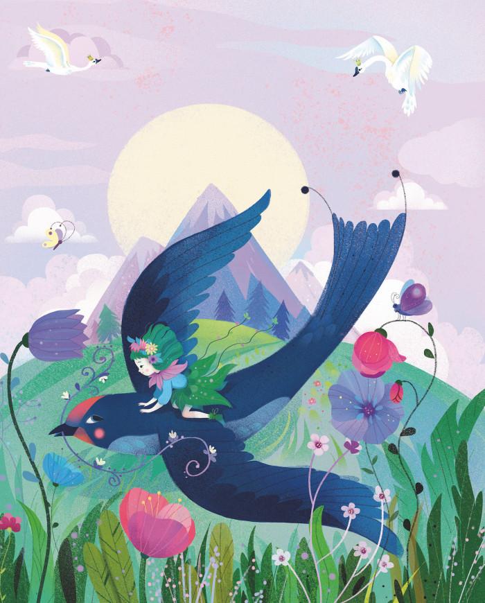 Thumbelina Cover art