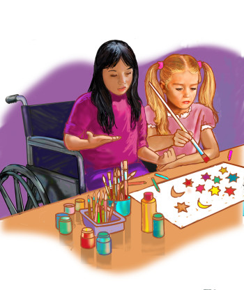 asian girl teaching arrt
