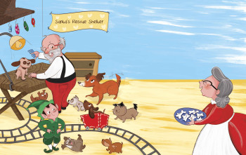 Santa's Puppies