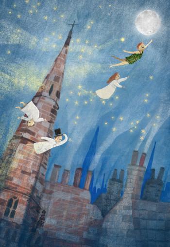 Peter Pan Over London