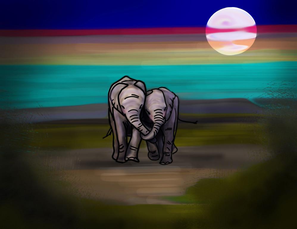 Elephants (2018 calendar)