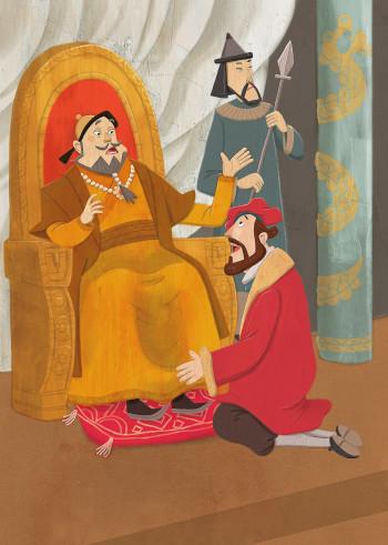 Marco Polo and Khan