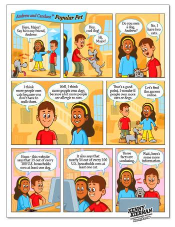 McGraw-Hill Children's Educational Comic Strips