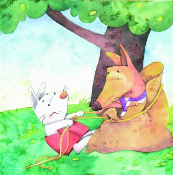 El coyote y el conejo
