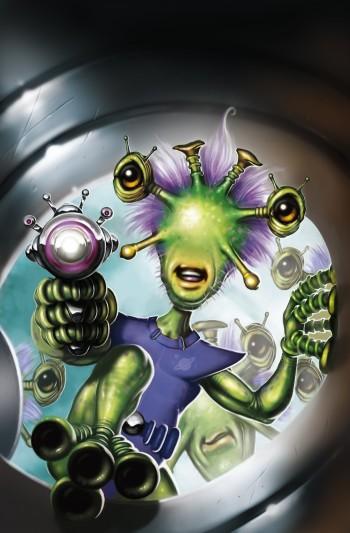 Little Green Aliens, Attack!