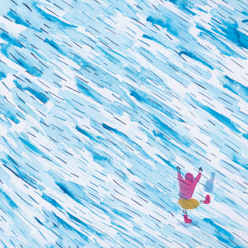 I Like the Rain - picture book page