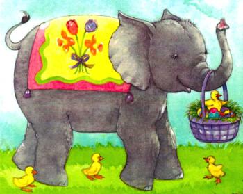 Easter Elephant