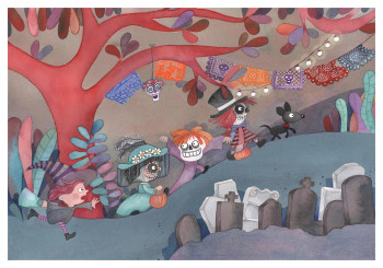 When I was a child 2 - Dia de muertos - Day of the dead