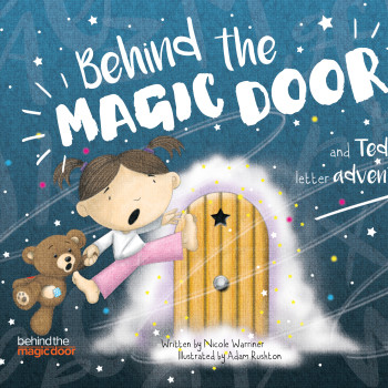 Cover illustration for Behind the Magic Door