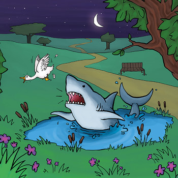 A Shark in the Park
