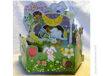 Wonderfold Easter Egg hunt for Hallmark Cards
