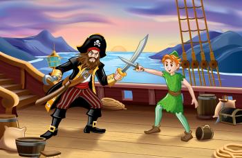 Captain Hook vs. Peter Pan
