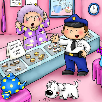 The Cake Shop Mystery