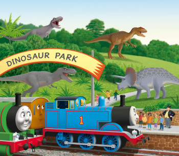 Detail from Thomas and the Dinosaurs