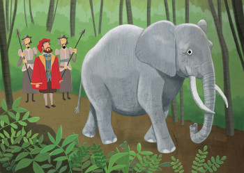 Marco Polo-Elephant in Forest