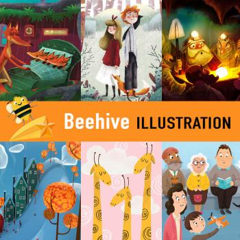 Beehive Illustration